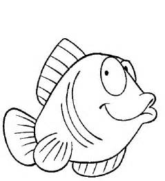 Preschool Fish Coloring Pages