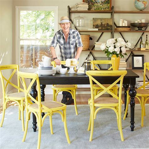 25 Dining Areas with Yellow Dining Chairs   Home Design Lover