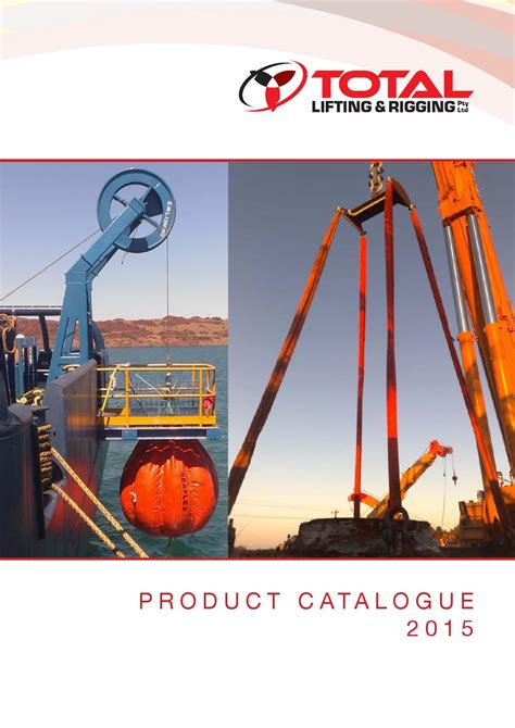 Total Catalog Complete By Total Lifting And Rigging Issuu