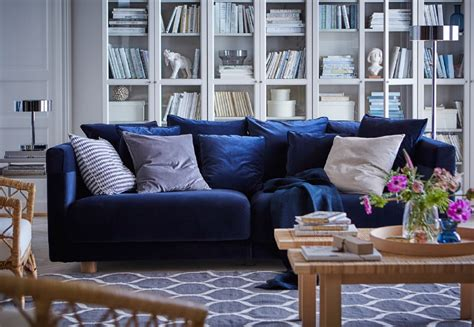 Divano Blu Immagini : Qualità E Confort| Divani E Poltrone- Ikea