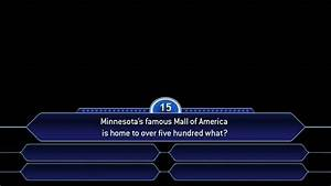 who wants to be a millionaire template madinbelgrade With who wants to be a millionaire blank template powerpoint