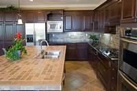 counter top tile Ceramic Tile Kitchen Countertop | KITCHENTODAY