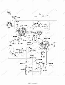 Kawasaki Atv 2006 Oem Parts Diagram For Carburetor  Us