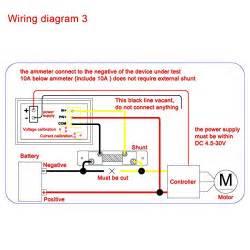 Digital Voltmeter Ammeter Panel  Drok Micro Volt Amp Meter