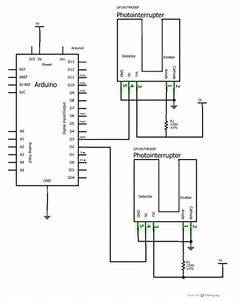 runaway train investigating speed with photo gates With breadboard circuit