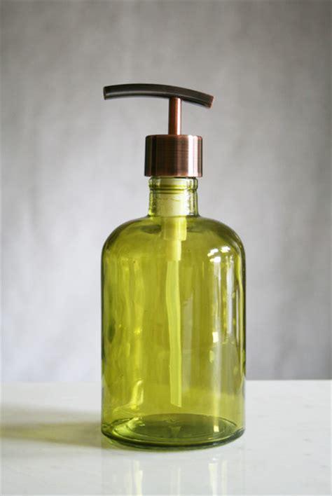 Green Glass Bath Accessories by Green Glass Bath Accessories Themed Bathroom Ideas