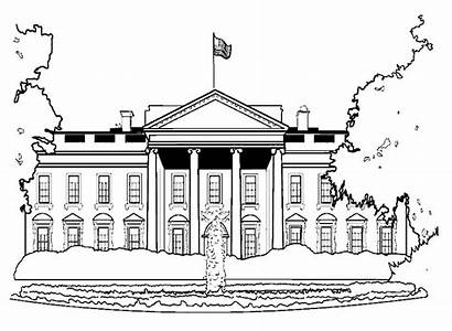 Monuments Famous Coloring Pages Children Justcolor