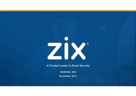 zix corporation zixi presents  imperial capitals