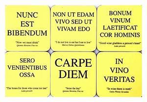 more Latin phra... Roman Quotable Quotes