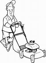 Mower Lawn Coloring Gras Maaien Het Stand Huis Clip Kleurplaten Illustrations Kleurplaat Bezigheden Voorwerpen Rond Popular Om sketch template