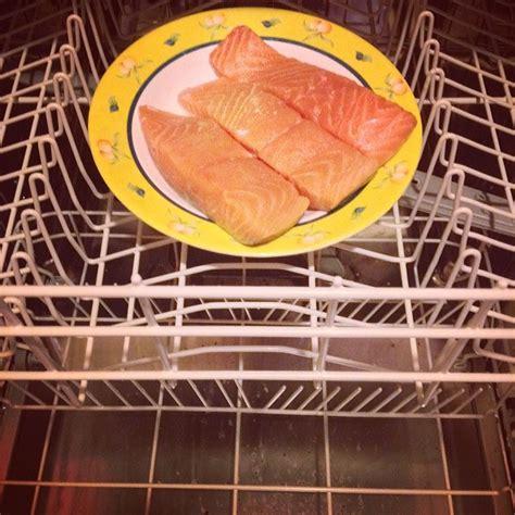 cuisiner au lave vaisselle cuisson du saumon au lave vaiselle cuisine de mémé