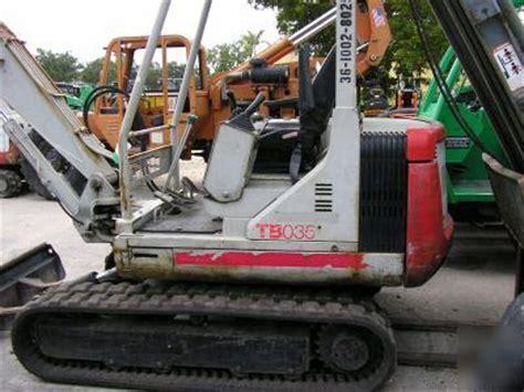 takeuchi tb mini excavator  clean  hours
