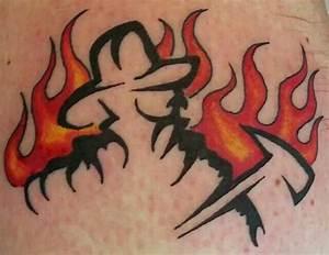 Firefighter Tattoo | Firefighting | Pinterest ...