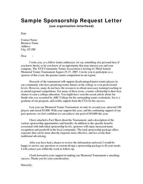 sponsorship letter samples katiealibrandi