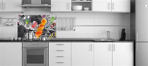 fond blanc en cuisine idée credence cuisine noir et blanc crédences cuisine