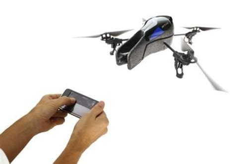 parrots ardrone helicopter brings military style amusement   iphone engadget