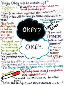 """""""The Fault in our stars quote collage"""" by creative cutie ..."""