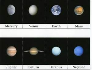 Pictures On Planets Flash Cards W Printable (page 2 ...