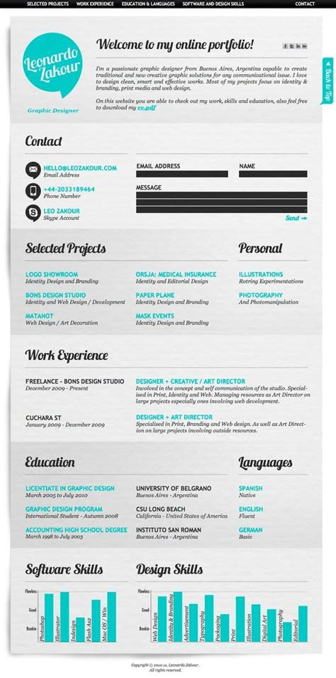 Media Resume by 7 Ways To Make Your Social Media Resume Look Awesome