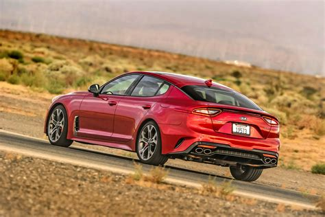 2018 kia stinger lease deals start from 382 a month carscoops