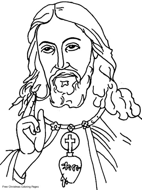 Jesus Christ Coloring Pages - GetColoringPages.com