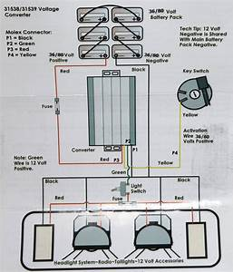 36 Volt Golf Cart 12 Volt Wiring Diagram
