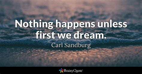dream carl sandburg