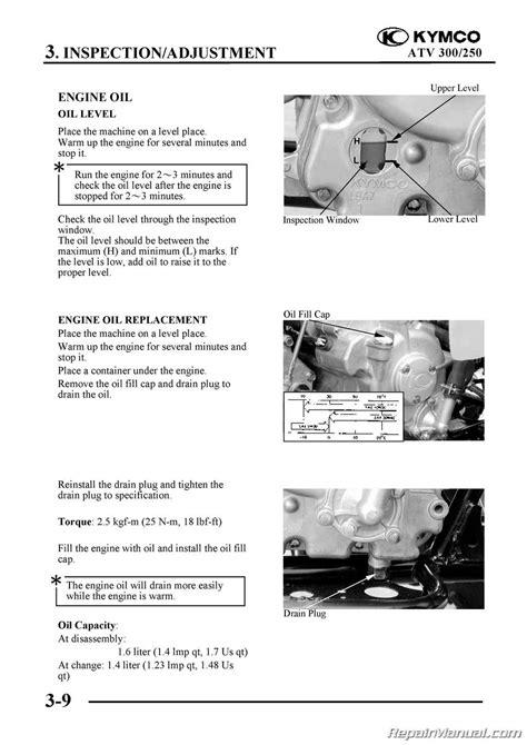 Kymco Mongoose Maxxer Atv Printed Service Manual