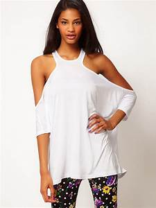Buy Women Sexy Off Shoulder Backless Half Sleeve T