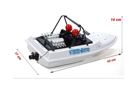Rc Boat Jet Boat by Rc Radio Controlled Tear Into Jet Boat 6024 1 25 Ebay