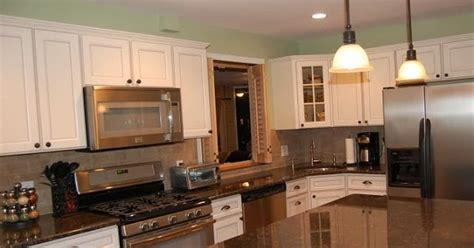 almond kitchen cabinets finished kitchens keptoz s kitchen 1200