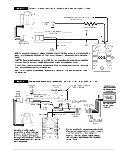 Mallory Ignition Wiring Diagram Free