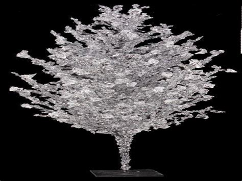 wedding centerpieces  tree branches crystal ice christmas tree christmas trees  ice