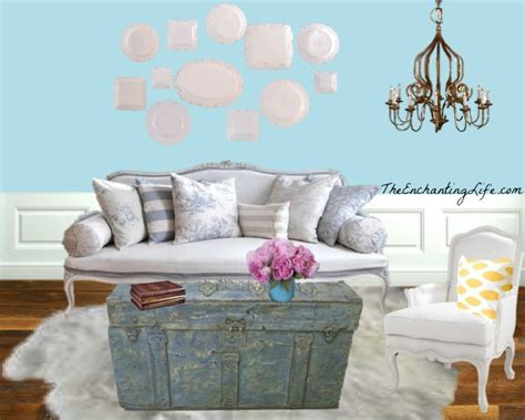 Chic Living Room Decorating Ideas And Design 7 Chic: Shabby Chic Living Room