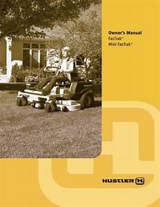 Hustler Mini Fastrack Lawn Mower Owner U0026 39 S Manual Pdf View