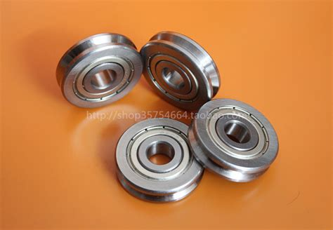 The Outer Ring Of V Type Groove Roller Guide Wheel Bearing