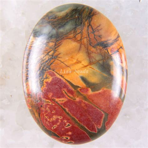 color of jasper free shipping new without tags 30x40mm multi
