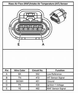 Where Is The Iat Sensor On A 2006 Gmc Sierra 1500 4 8l Engine