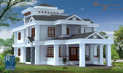 houses design plans architecture kerala 4 bed room kerala house