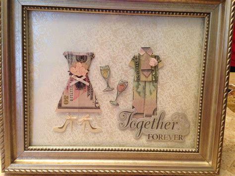 creative   give money   wedding gift