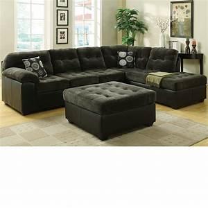 Dreamfurniturecom 50530 layce dark green morgan fabric for Dark green sectional sofa
