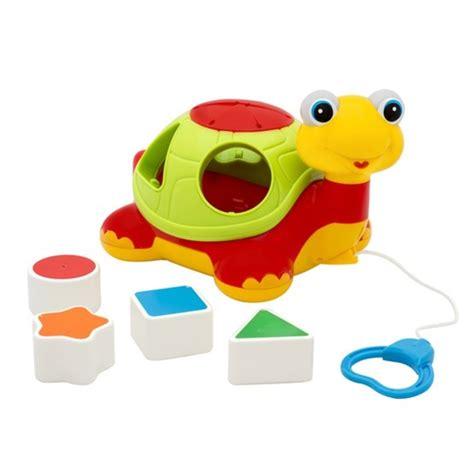 bebe clasificador figuras geometricas forma tortuga