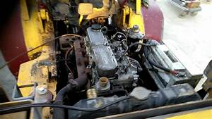 Start Engine S4s Di 3 3 Forklift Caterpillar Rebuild 1999