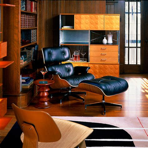 eames compact sofa craigslist mid century modern study traditional home theater