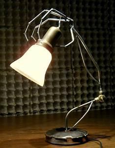 Hand Crafted Skeleton Hand Lamps Custom Floor Desk Wall