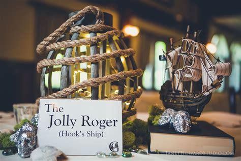 Peter Pan Themed Wedding Table Centerpiece So Creative