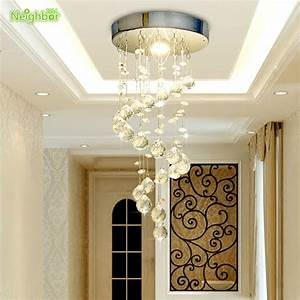 Aliexpress buy new modern crystal ceiling lights led