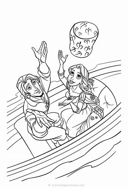 Coloring Rapunzel Tangled Flynn