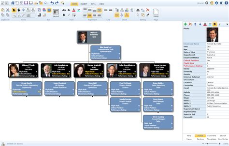 org chart software trial