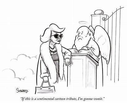 Joan Rivers Cartoon Daily Yorker Cartoons Friday